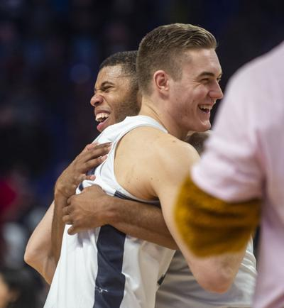 """""""We're all-stars in our roles"""" Penn State men's basketball's complete performance was a result of widespread contributions"""