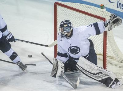 Men's Hockey v. Michigan, Peyton Jones (31)