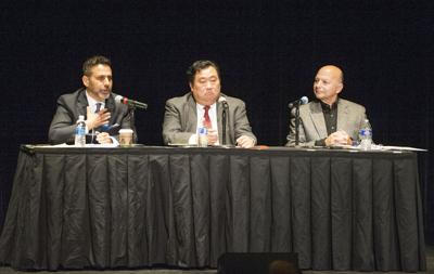 Michael Black, Don Hahn and Ron Madrid debate