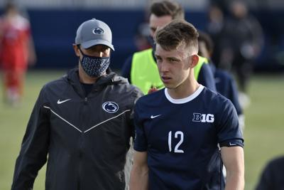 Penn State Men's Soccer vs. Ohio State, Greg Dalby and Rieple (12)
