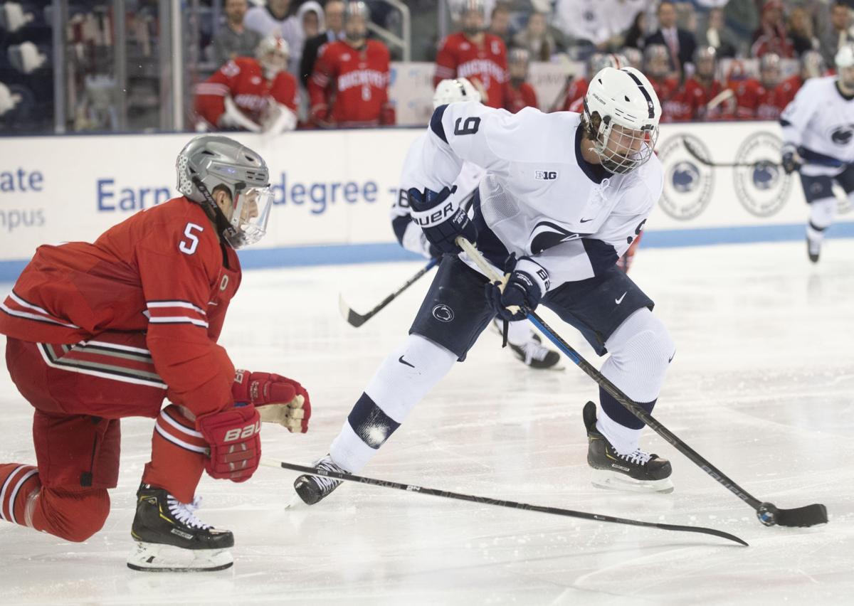 Penn State Men's Hockey vs. Ohio State, Alex Limoges (9)