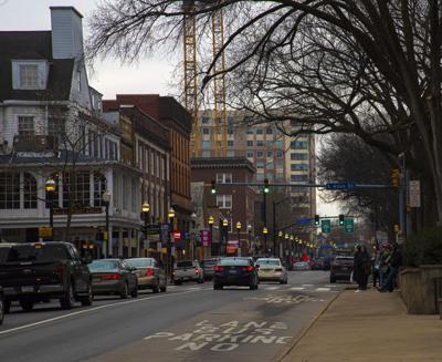 College Avenue, downtown State College, Local Buildings and Generic Shots
