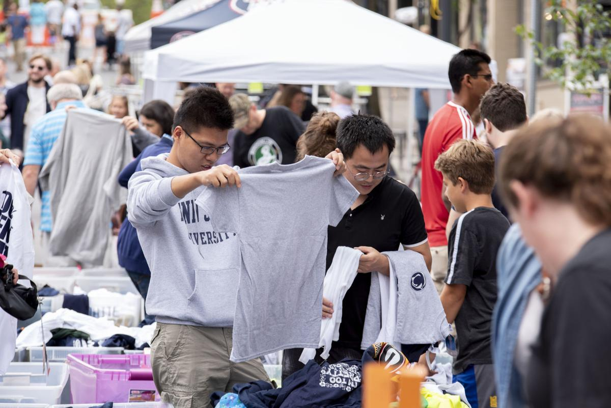 Street Event; Sidewalk Sale & Street Bazaar