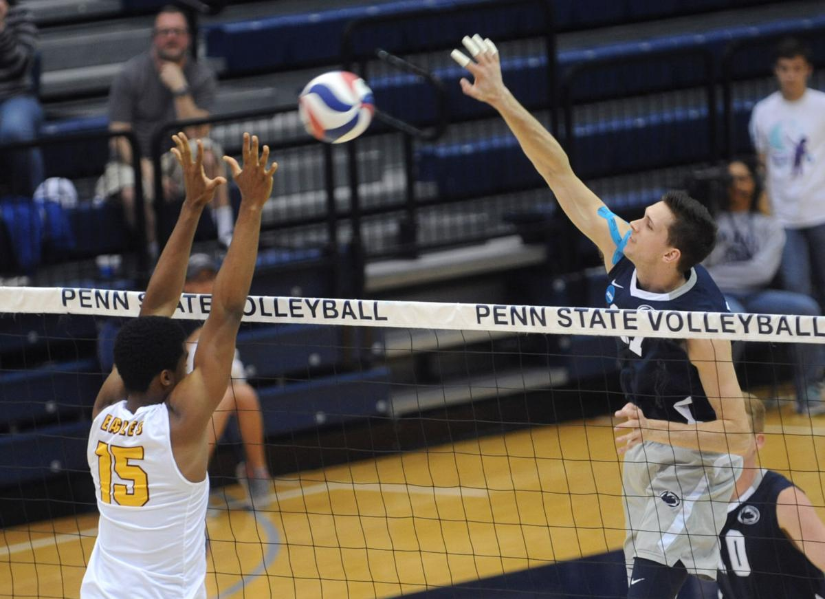 Penn State men's volleyball defeats Princeton in semi ...