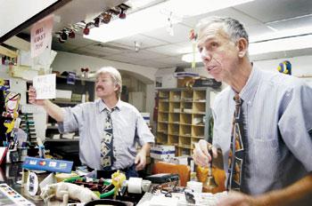 Mailmen bring campus cheer to post office