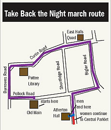 Rally planned to 'Take Back Night'