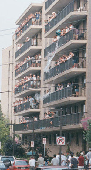 Under One Roof: Council Members Suggest Balconies Add To Rowdiness |  Archives | Collegian.psu.edu