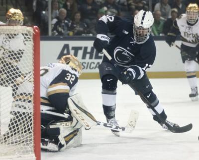 Big Ten Men's Ice Hockey Tournament Championship Game vs. Notre Dame, Larsson (12)