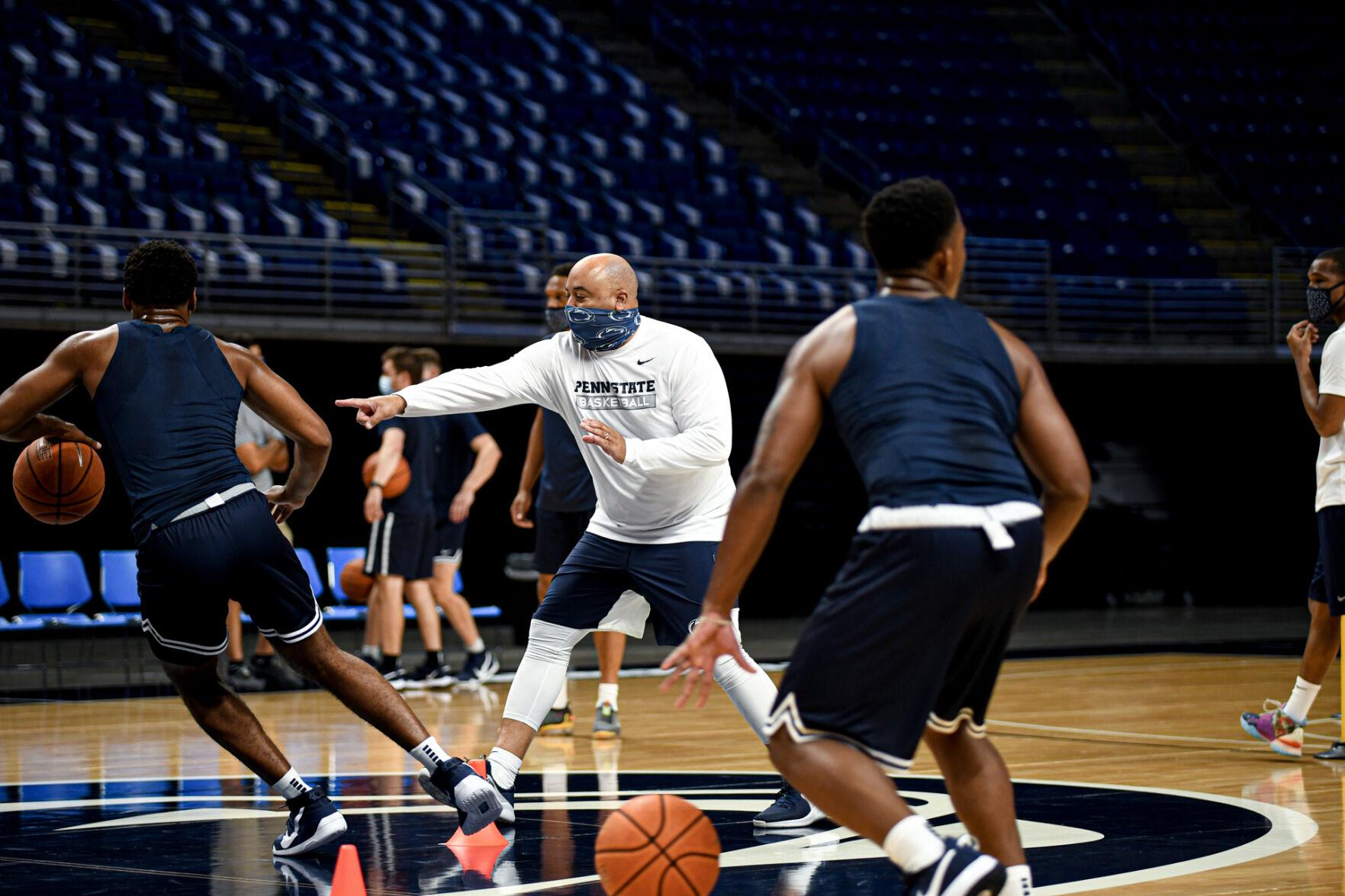 psu.edu - Alexis Yoder | The Daily Collegian - Penn State men's basketball, Micah Shrewsberry focus on 'win now' mentality ahead of 2021 season