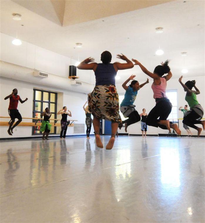 African Dance Class Provides Intense Workout