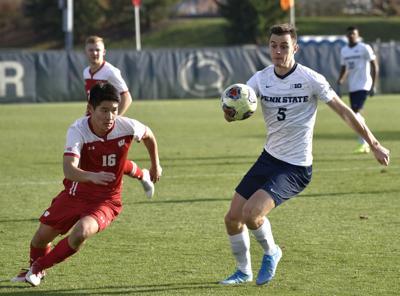 Men's soccer vs. Wisconsin (Big Ten Tournament), Pritchatt (5)