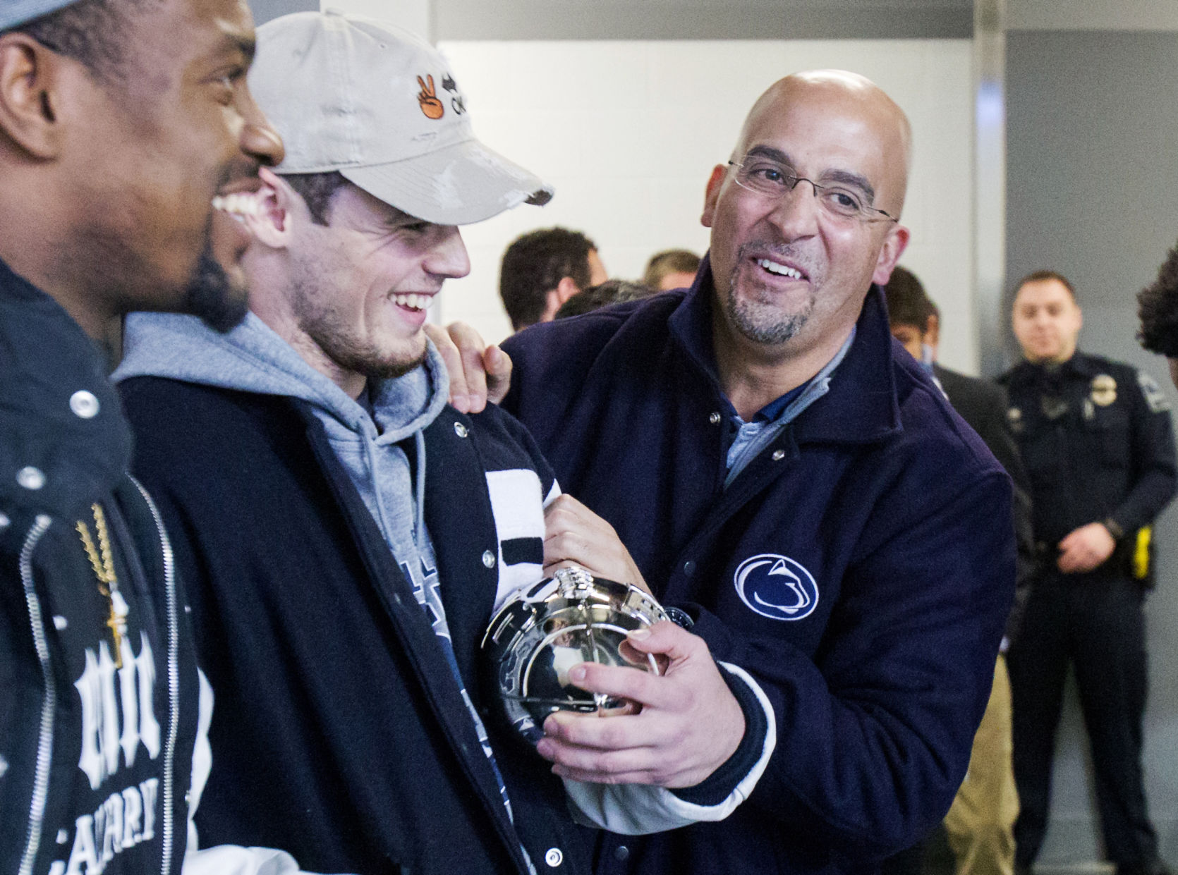 Penn State football coach James Franklin signs 6-year contract extension