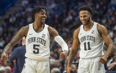A vintage defensive performance in the first half propels Penn State men's basketball over No. 21 Ohio State