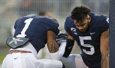 Penn State football spring practice, Brisker and & Fields (Friday)