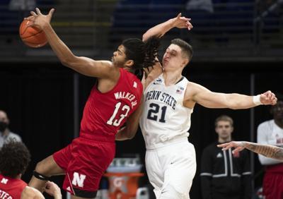 Penn State Men's Basketball vs Nebraska, Harrar (21)