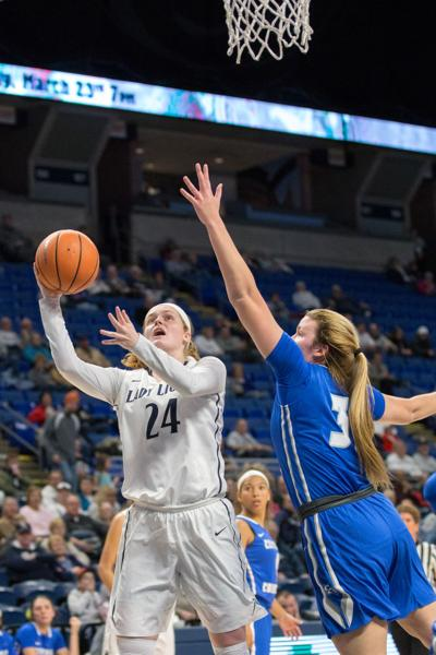 Women's Basketball, Central Connecticut State, Breen (24)