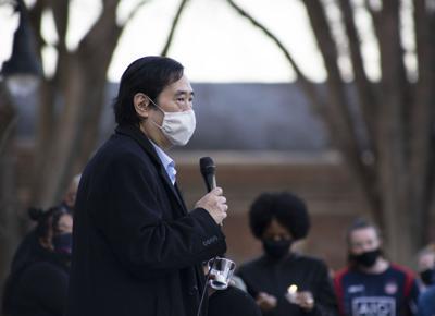 Honoring Atlanta Victims Vigil, Don Hahn