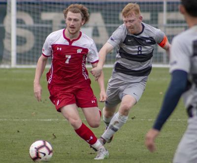 Penn State Men's Soccer vs. Wisconsin, Aaron Molloy (8)