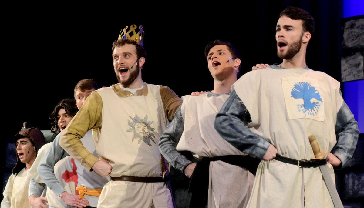 Thespians will kick off 'Spamalot' tonight in search of the