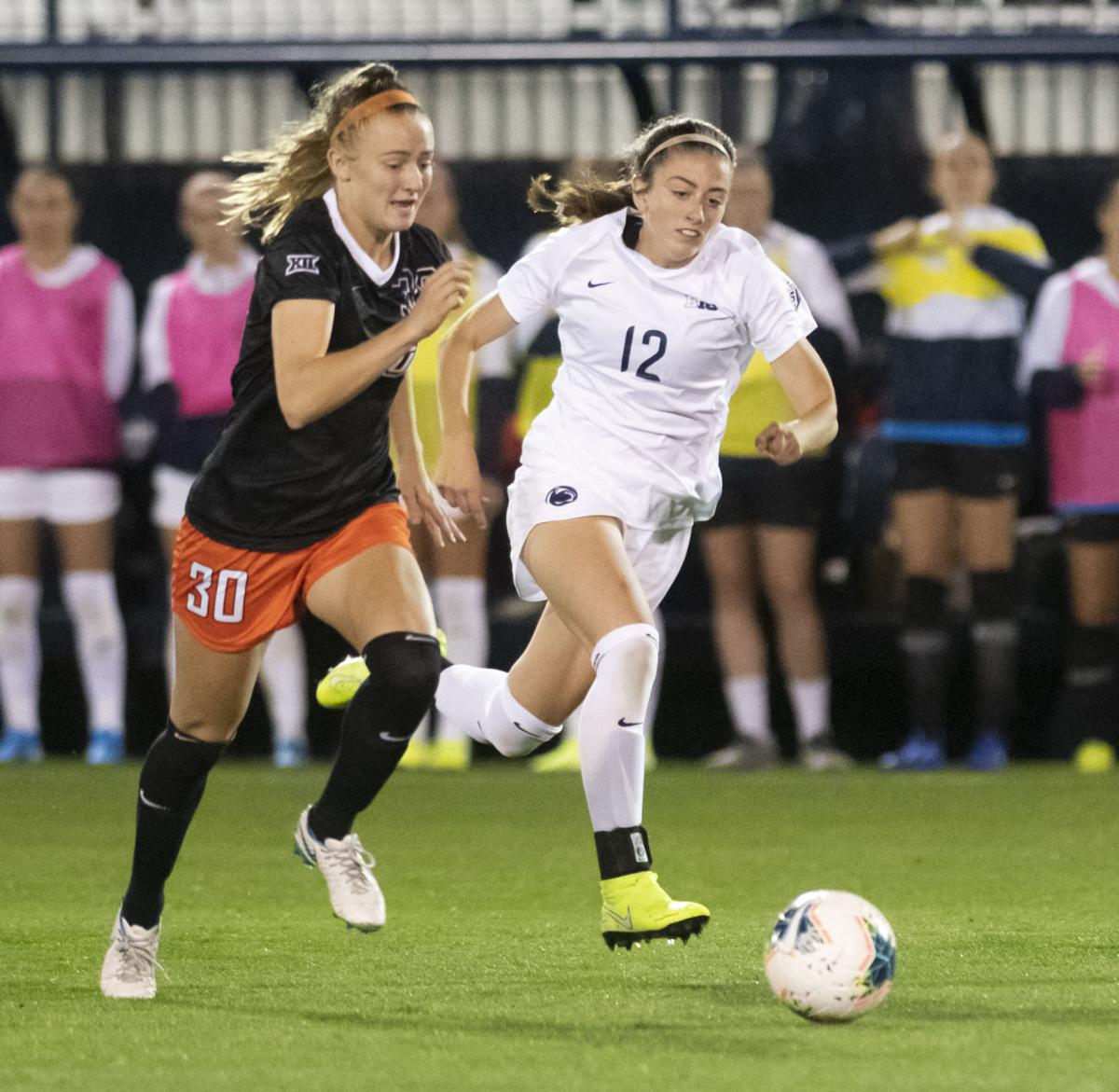 Women's soccer vs. Oklahoma State, Linnehan (12)