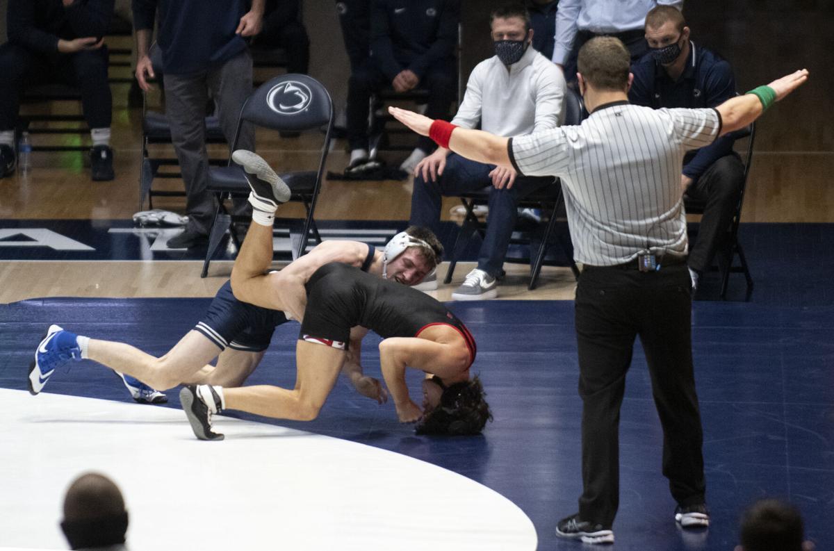 Penn State Wrestling vs Maryland, Lee
