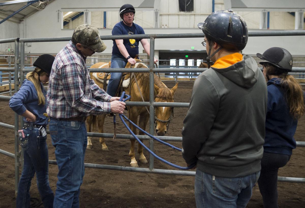 Penn State Horse Training Class, Brian Egan