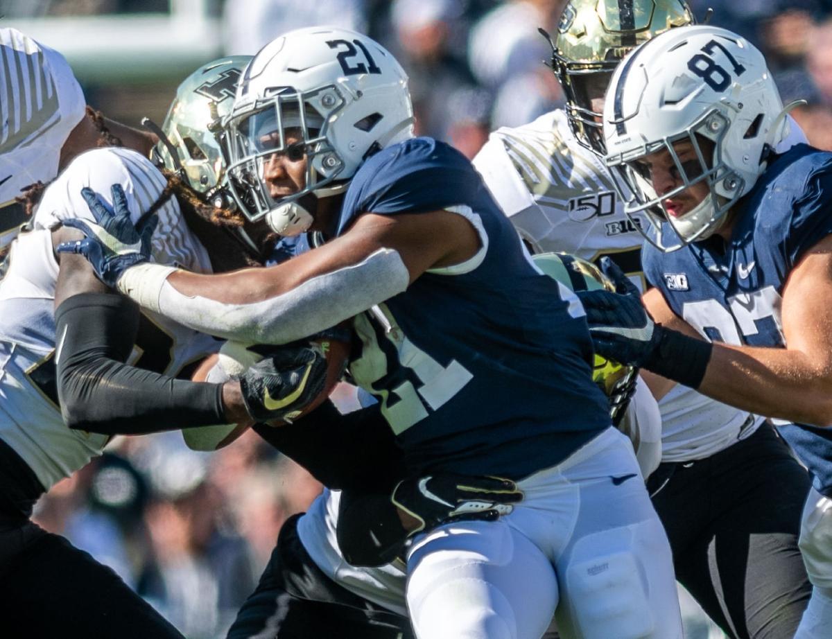 Penn State vs Purdue, Noah Cain (21)