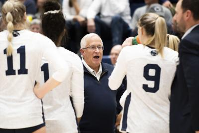 Women's Volleyball vs Indiana, Coach Rose