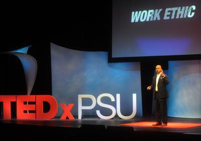 Franklin speaks at TEDxPSU