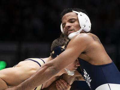 No. 3 Penn State wrestling downs No. 13 Lehigh on the road to get back in the win column