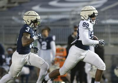 Penn State football spring practice, Dixon (Friday)