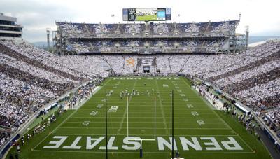 Penn State vs. Temple, Stripe Out