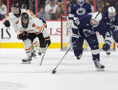 Penn State Men S Hockey Loses To Princeton On Controversial Goal In