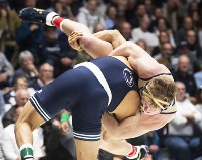 Penn State wrestling downs Penn to cap off weekend sweep of in-state rivals