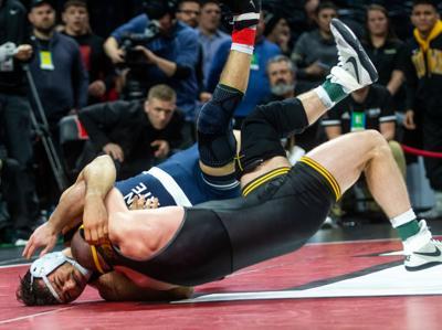 Big Ten wrestling tournament, Vincenzo Joseph and Alex Marinelli