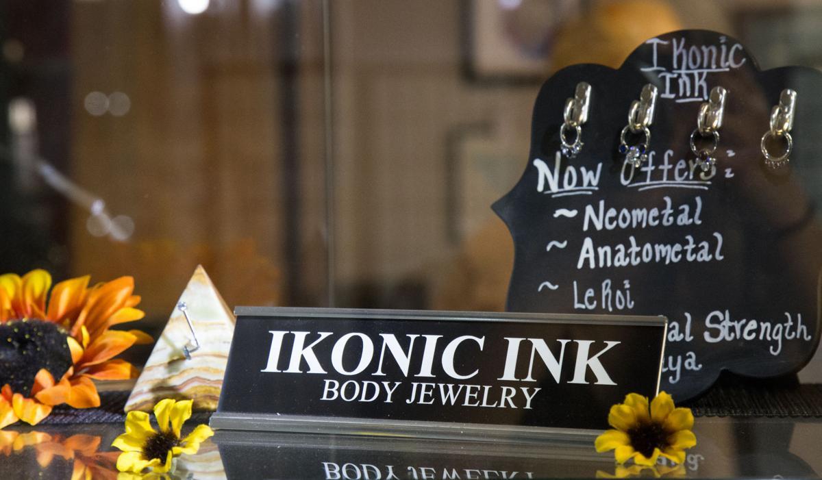Ikonic Ink Shelf Sign