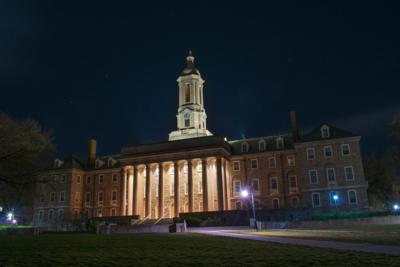 Feature: Night Old Main