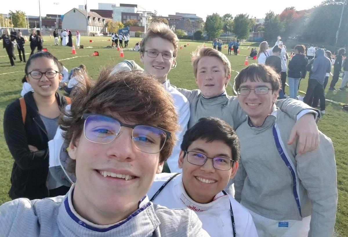 fencing club, hoco parade 2019