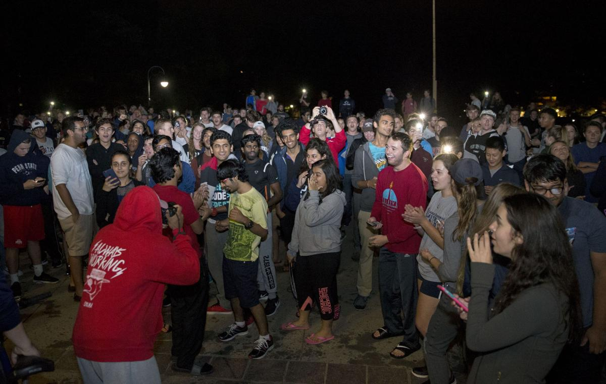 photos and updates clown frenzy sweeps penn state collegian