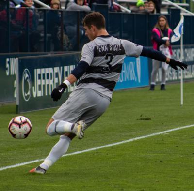 Penn State Men's Soccer Vs. Wisconsin, Brandon Hackenberg