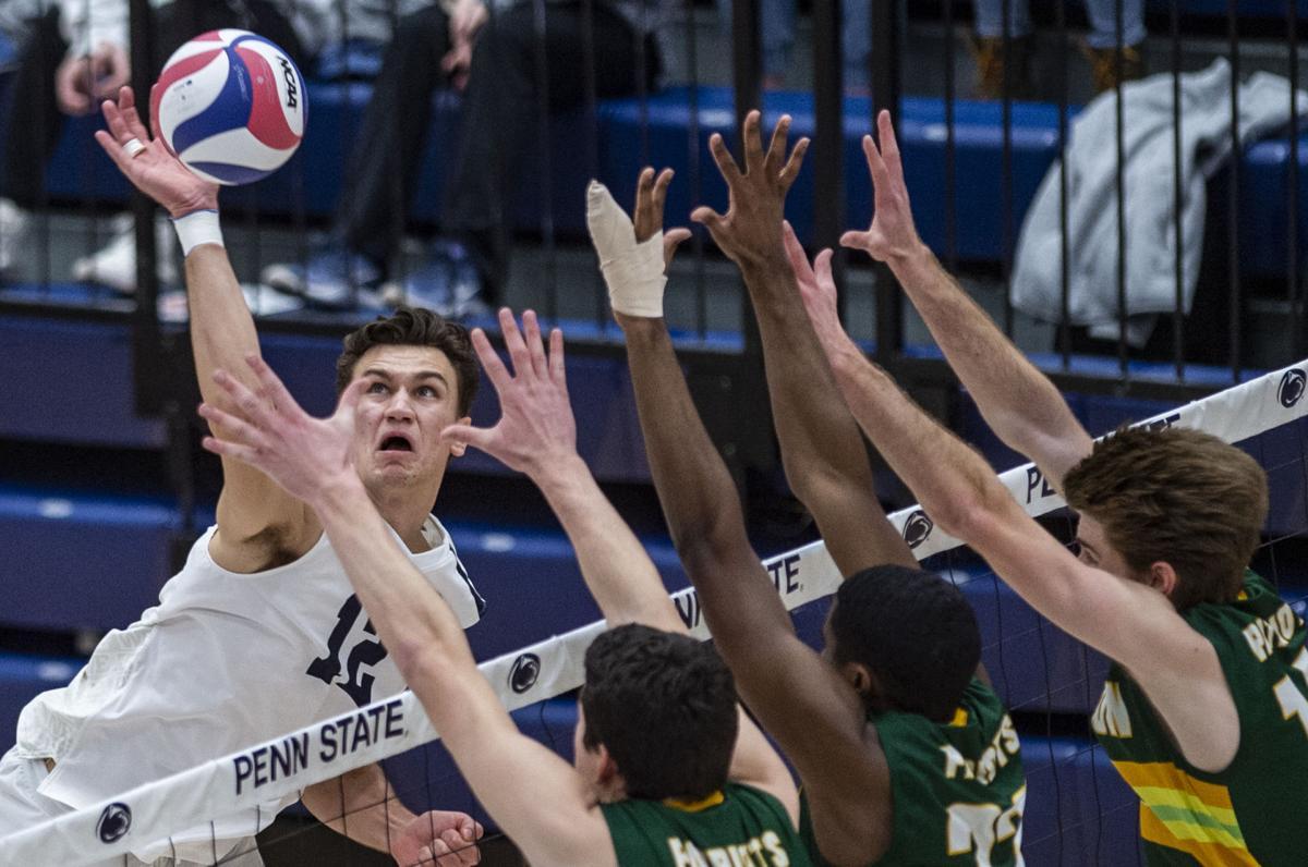 Penn State Men S Volleyball S Brett Wildman Named Avca All American Penn State Volleyball News Daily Collegian Collegian Psu Edu