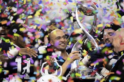 Cotton Bowl, Franklin Holds Cotton Bowl Trophy