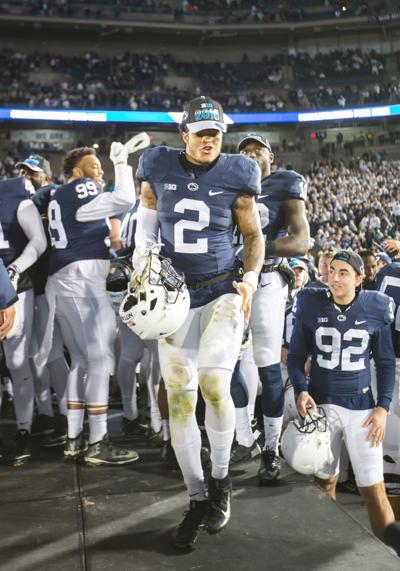 new product 27452 693ac Marcus Allen to return for senior season with Penn State ...