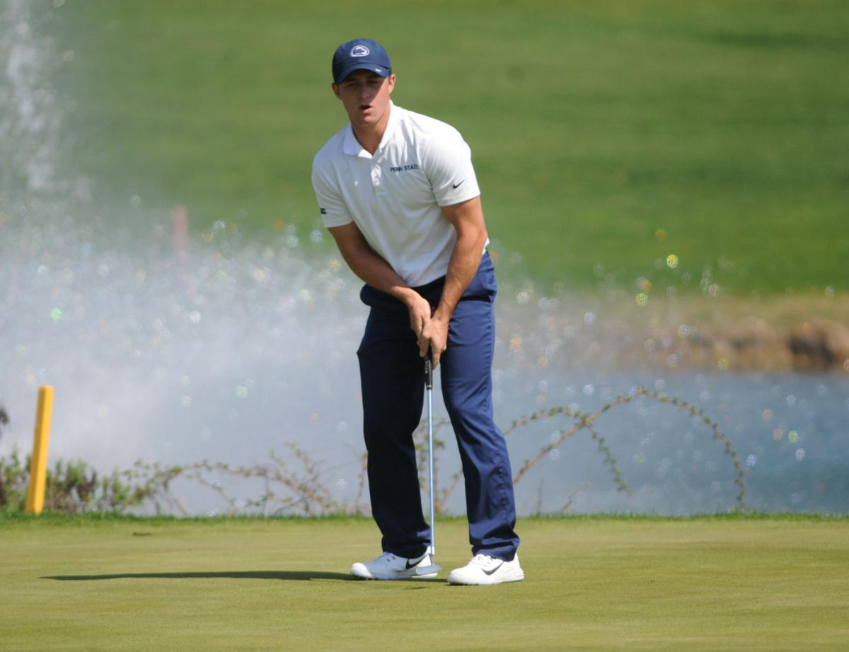 Men's Golf Rutherford Intercollegiate tournament, Cole Miller