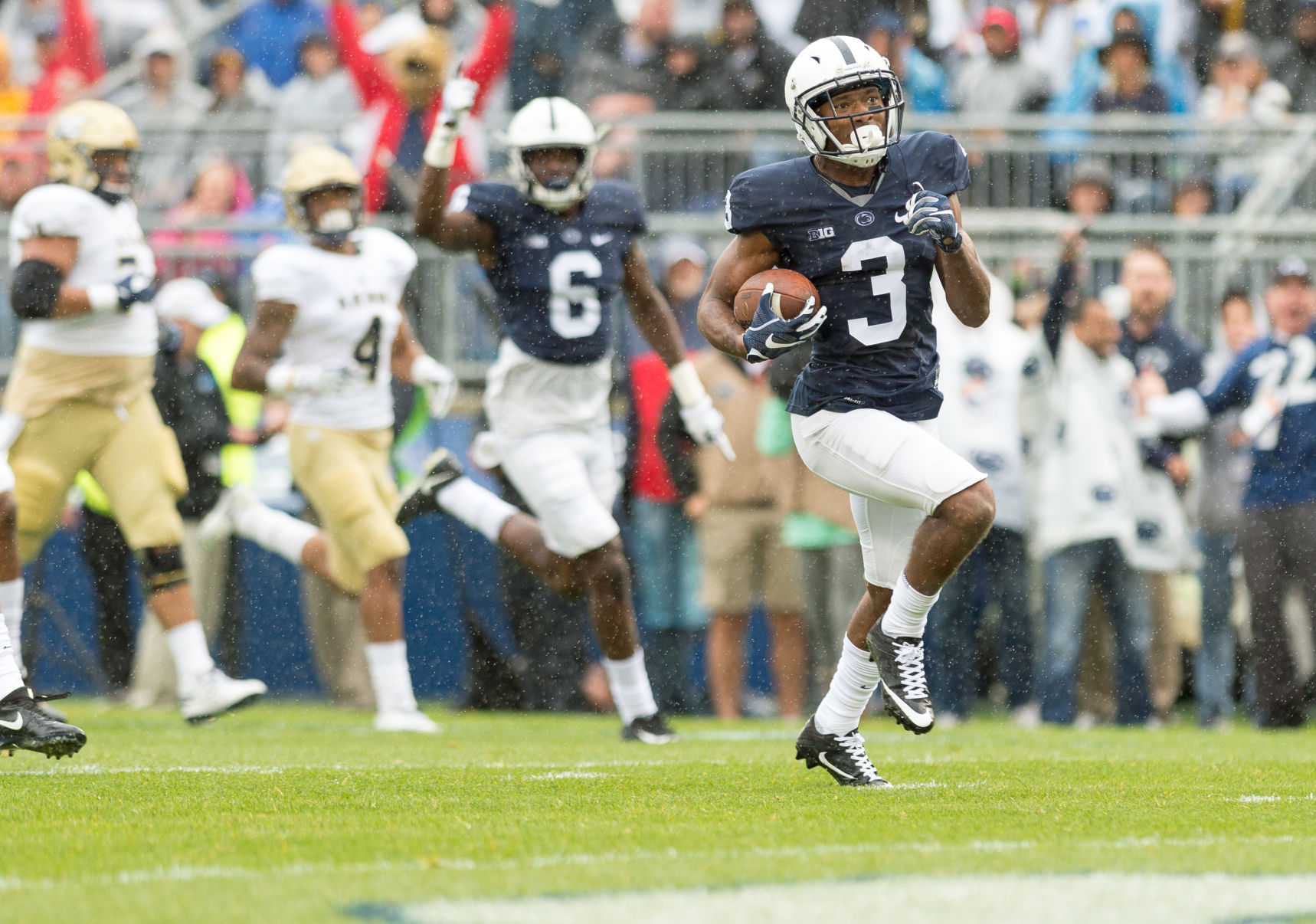 Penn State's First TD in 2017 is a Punt Return