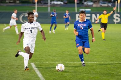 Mens Soccer vs American - Danny Bloyou