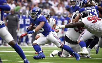 Nittany Lions In The Nfl Week 3 Saquon Barkley Scores Again