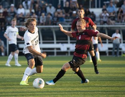 Men's soccer vs. Stanford, Stevenson (18)