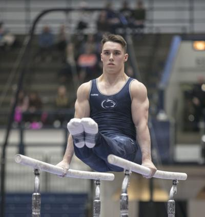 58f949101617 Penn State men's gymnastics takes down Big Ten rival Michigan | Penn ...