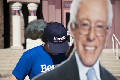 Students for Bernie, Harper in Bernie Apparel